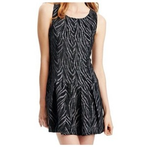 Free People short dress Black and grey on Tradesy