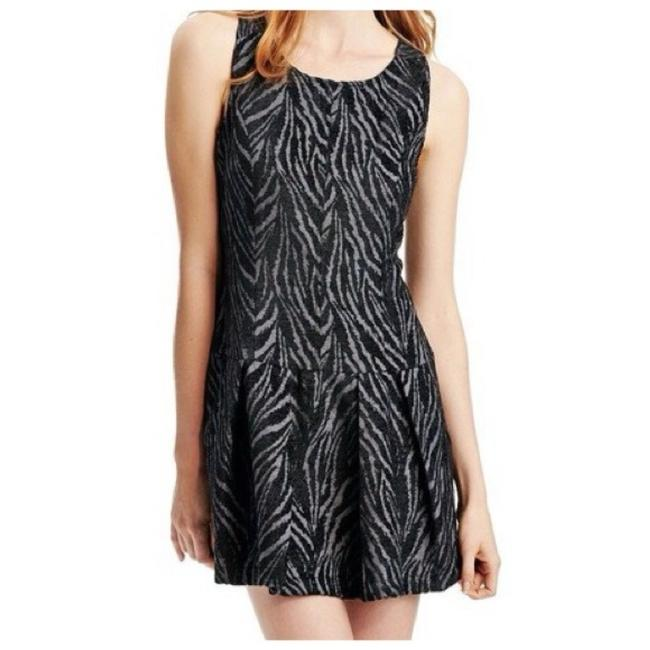 Free People short dress Black and grey on Tradesy Image 0