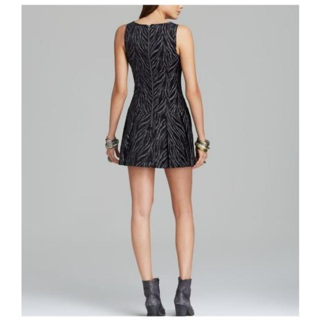 Free People short dress Black and grey on Tradesy Image 1