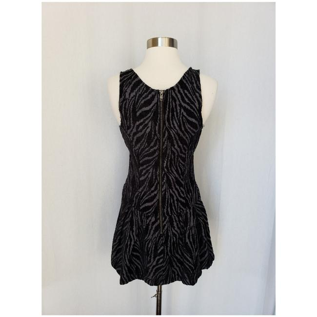 Free People short dress Black and grey on Tradesy Image 3