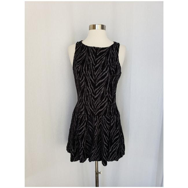 Free People short dress Black and grey on Tradesy Image 4