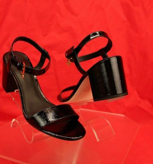 Tory Burch Velour Black Sandals Image 3