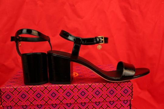 Tory Burch Velour Black Sandals Image 7