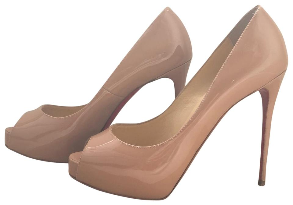 new arrival 7fbdf 09449 Nude New Very Prive Pumps