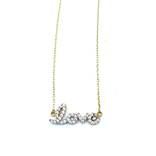 Preload https://img-static.tradesy.com/item/24778192/14k-yellow-gold-love-necklace-0-0-540-540.jpg