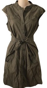 Alpha Industries short dress Army green on Tradesy