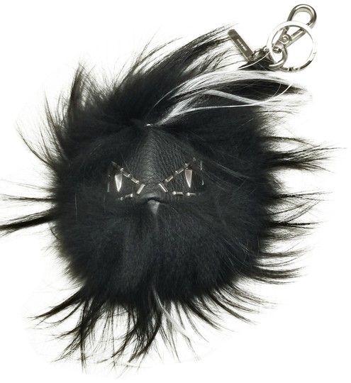 Preload https://img-static.tradesy.com/item/24778371/fendi-black-white-fur-monster-bag-bugs-pom-pom-purse-charm-0-1-540-540.jpg