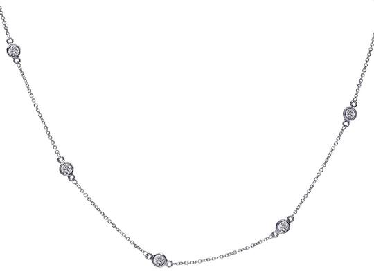 Preload https://img-static.tradesy.com/item/24778376/avital-and-co-jewelry-14k-white-gold-070-carat-round-diamonds-by-the-yard-necklace-0-1-540-540.jpg