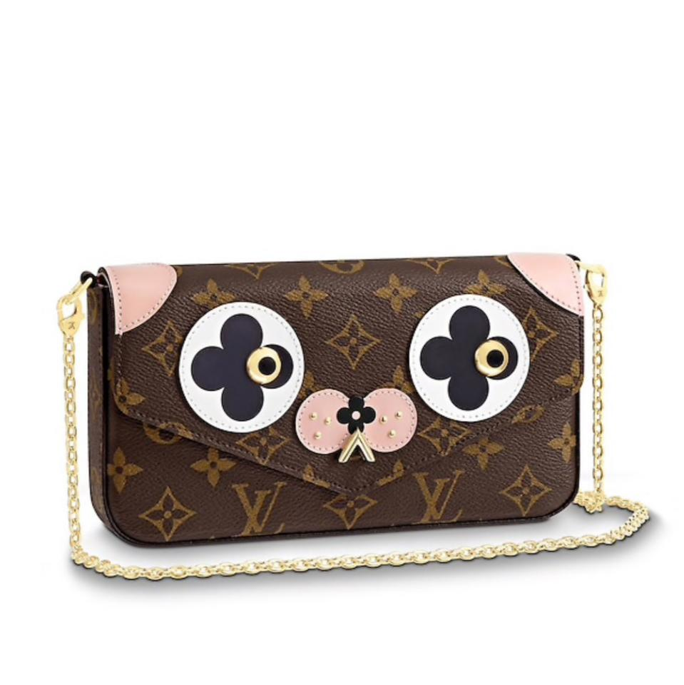 d567a3a7a0ab3 Louis Vuitton Pochette Felicie Limited Edition Valentine S Day