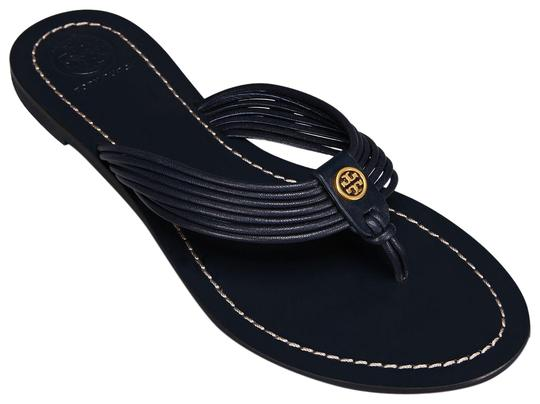 Preload https://img-static.tradesy.com/item/24778469/tory-burch-blue-sienna-perfect-navy-glove-nappa-leather-reva-thong-sandals-flats-size-us-105-regular-0-1-540-540.jpg