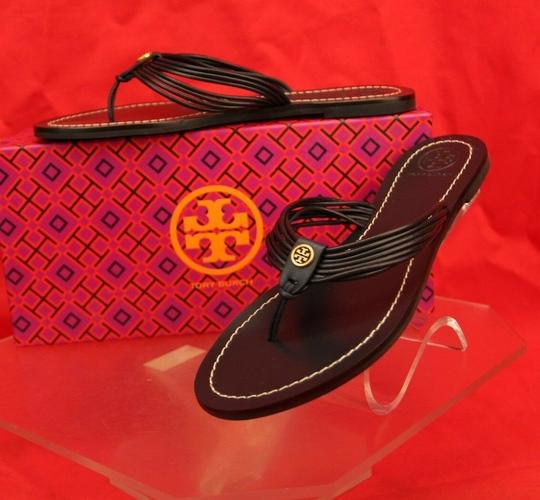 Tory Burch Velour Blue Flats Image 3