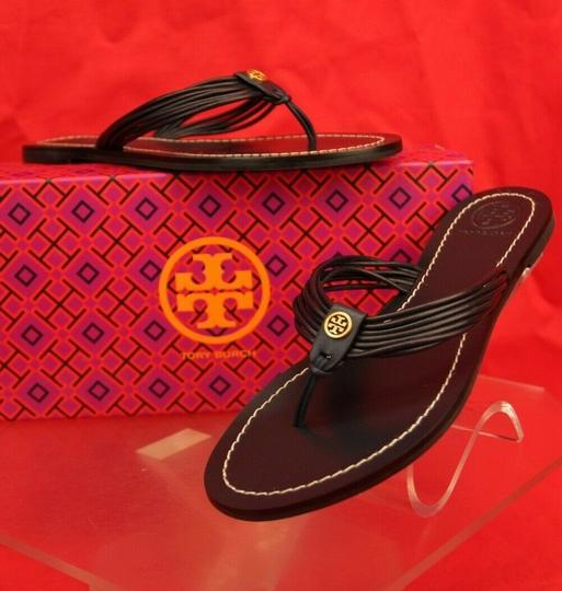 Tory Burch Velour Blue Flats Image 5