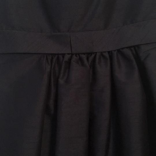Alfred Sung Midnight Polyester D443 Casual Bridesmaid/Mob Dress Size 14 (L) Image 2