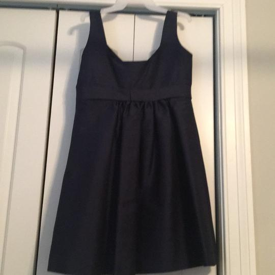 Alfred Sung Midnight Polyester D443 Casual Bridesmaid/Mob Dress Size 14 (L) Image 3