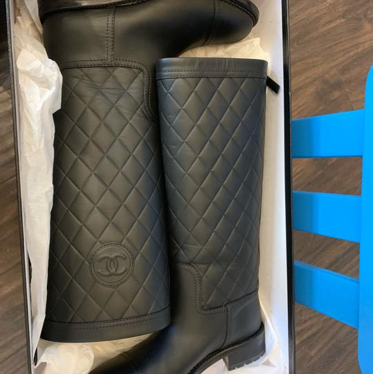 Chanel black Boots Image 1