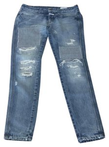 CLOSED Boot Cut Jeans-Distressed