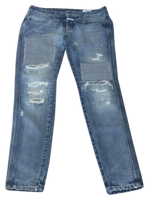 Preload https://img-static.tradesy.com/item/24778556/closed-blue-distressed-boot-cut-jeans-size-6-s-28-0-1-650-650.jpg