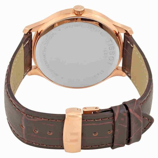 Tissot Tradition Rose Gold PVD Stainless Steel Quartz Men's Watch Image 2