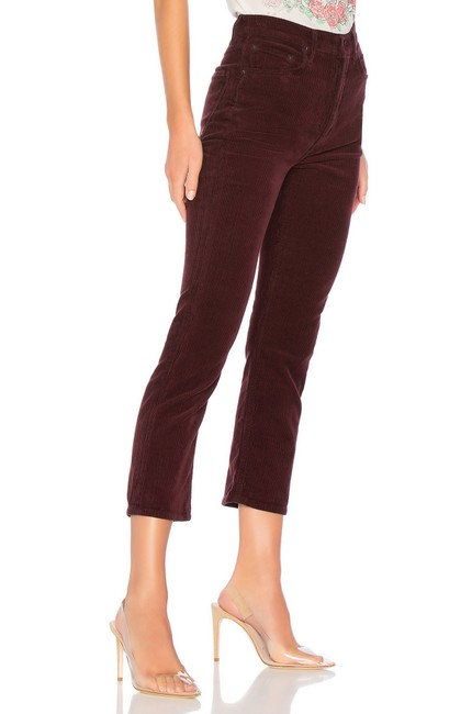 AGOLDE Straight Pants Currant Image 1