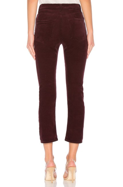 AGOLDE Straight Pants Currant Image 3