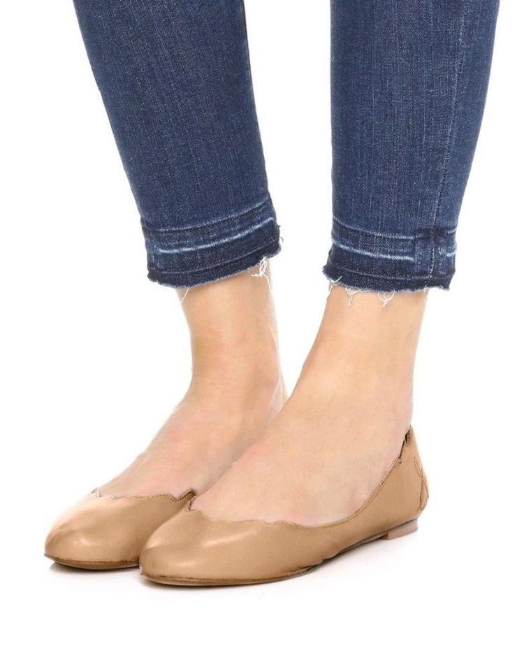 34272a6a2a819 Sam Edelman Nude Augusta Soft Leather Flats Size US 7 Regular (M