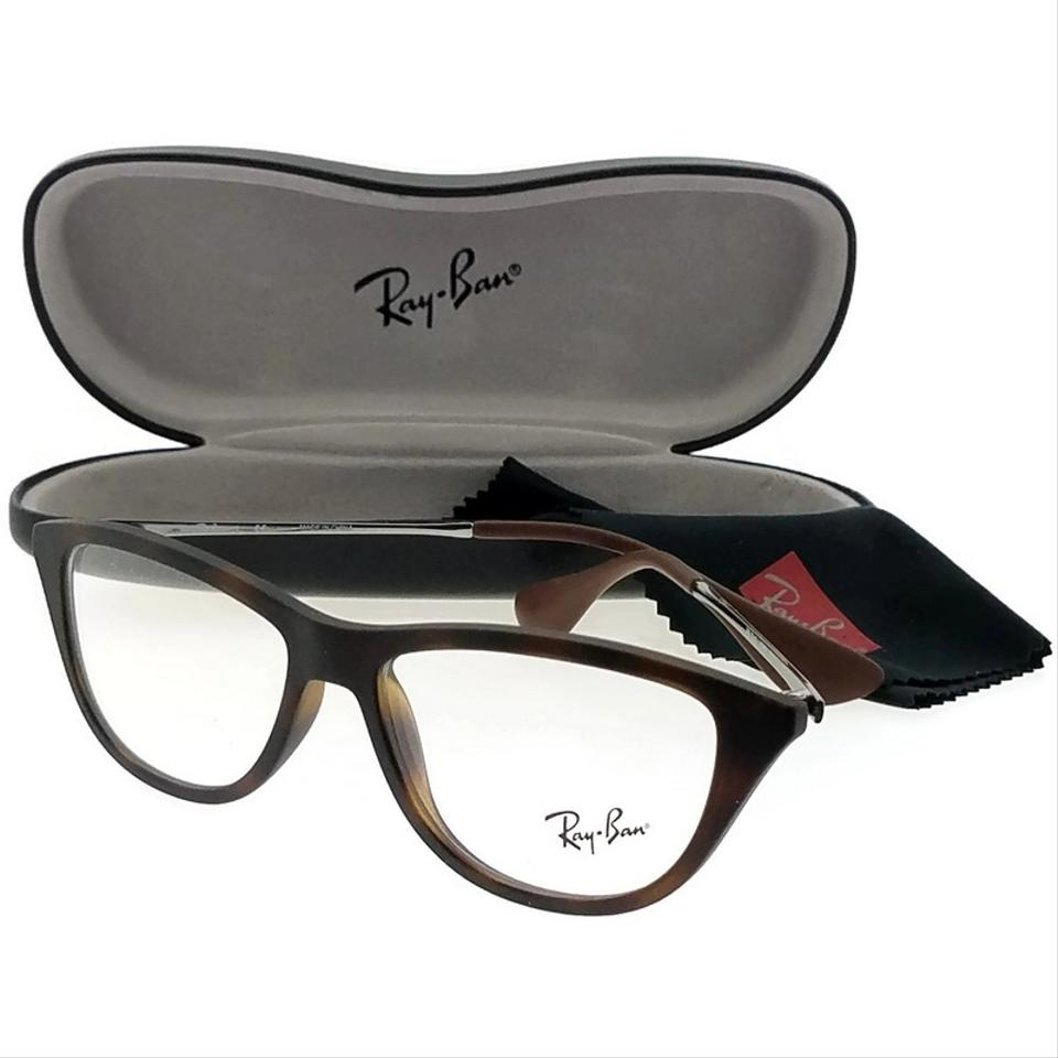 38c16897da Ray-Ban RX7042-5365 Youngster Women s Havana Frame Clear Lens 52mm  Eyeglasses Image 2. 123