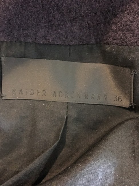 Haider Ackermann Coco Chanel Flannel PURPLE Blazer Image 4