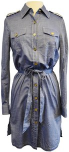 Tory Burch short dress Chambray Button Down on Tradesy