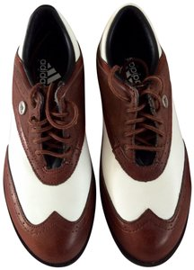 adidas Leather Oxford Brown Athletic