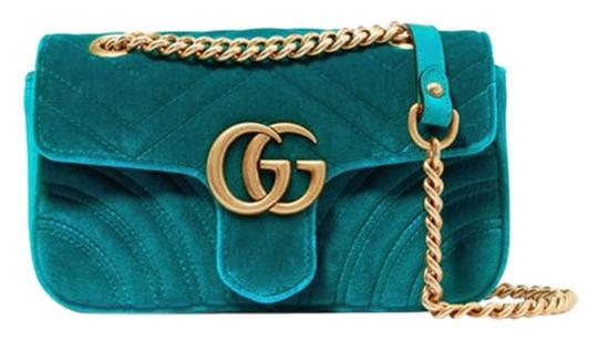 Preload https://img-static.tradesy.com/item/24779235/gucci-marmont-gg-mini-quilted-shoulder-blue-velvet-and-leather-cross-body-bag-0-1-540-540.jpg