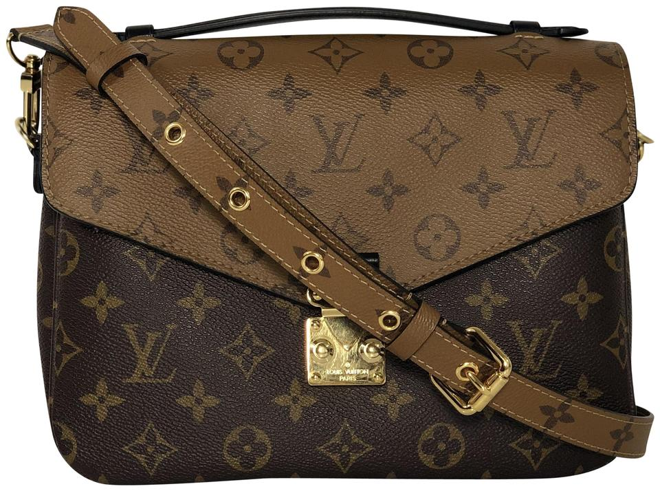 d027ec5ea84a Louis Vuitton Lv Pochette Metis Pochette Metis Monogram Shoulder Cross Body  Bag Image 0 ...