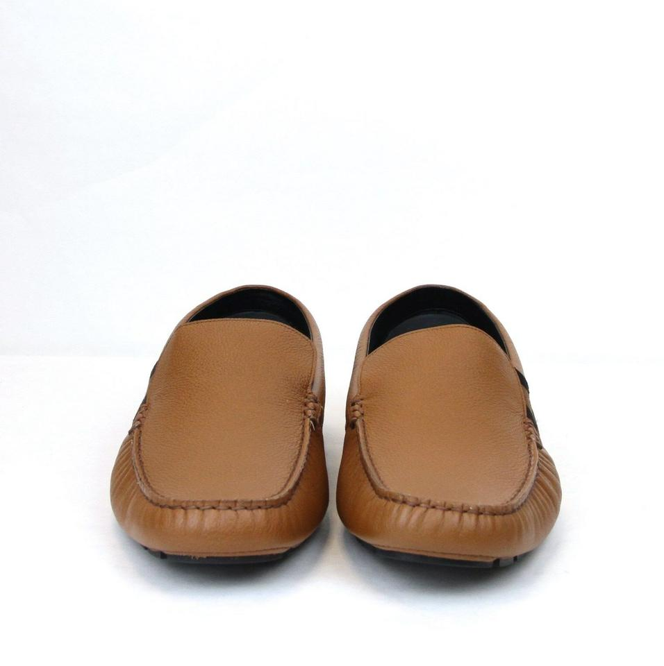d7086df3aba Gucci Brown Men s Soft Praga Leather Slip-ons 11.5 Us 12 363835 2567 Shoes.  12345678