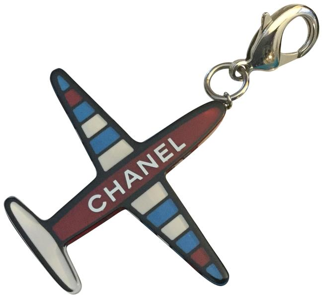 Item - Red White Blue New Sold Out Airplane Keychain / Pendant Charm