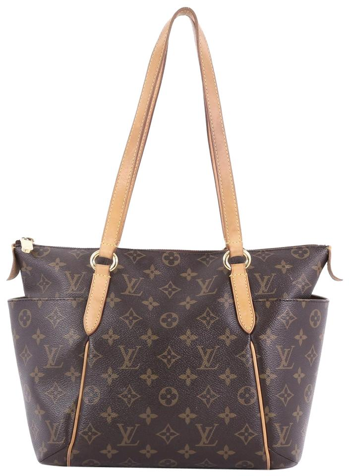 a3232e411e75 Louis Vuitton Totally Handbag Monogram Pm Brown Canvas Shoulder Bag ...
