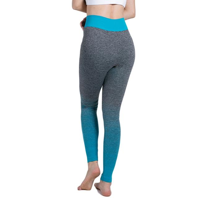 Item - Gray and Teal Black Activewear Bottoms Size 8 (M, 29, 30)
