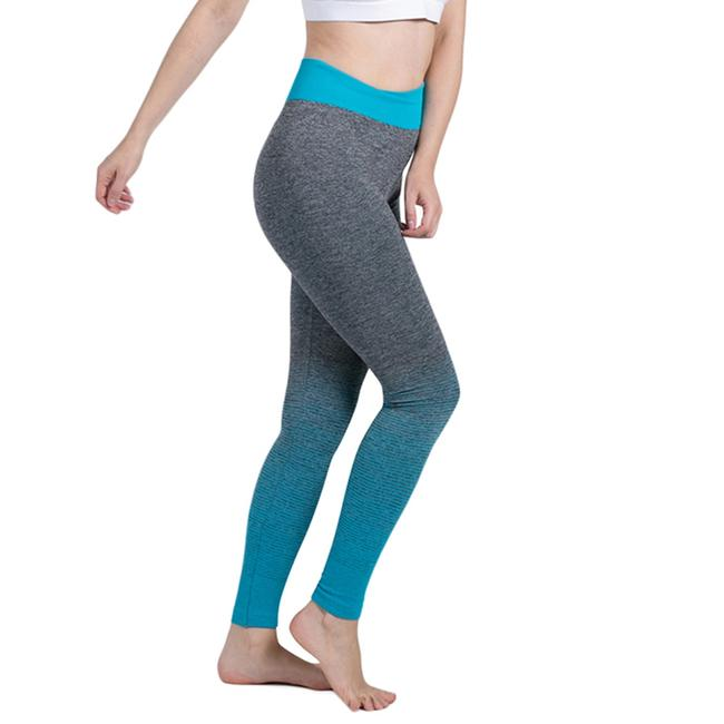 Item - Gray and Teal Black Activewear Bottoms Size 12 (L, 32, 33)