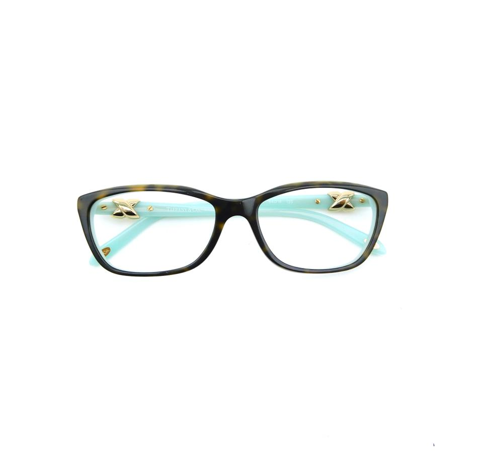 d7089f5f6e Tiffany   Co. Brown Blue Tf2074 8134 54mm Rx Prescription Eyeglasses Frames  Only Italy