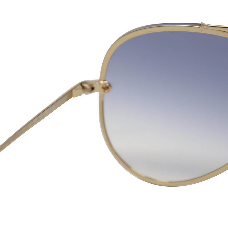 a196c22bcc6 Ray-Ban Gold Steel Light Blue Gradient Rb3584 Blaze Aviator Sunglasses
