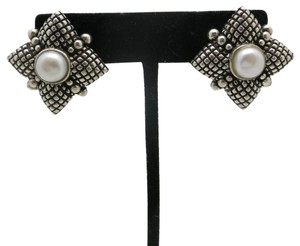 Stephen Dweck Stephen Dweck Earrings Pearl sterling silver Pierced CLips