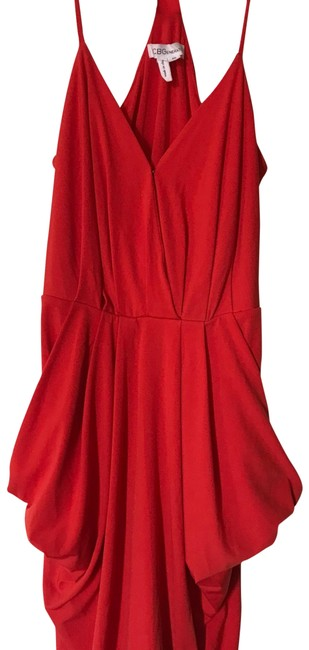 Item - Blood Orange Surplice Short Cocktail Dress Size 0 (XS)