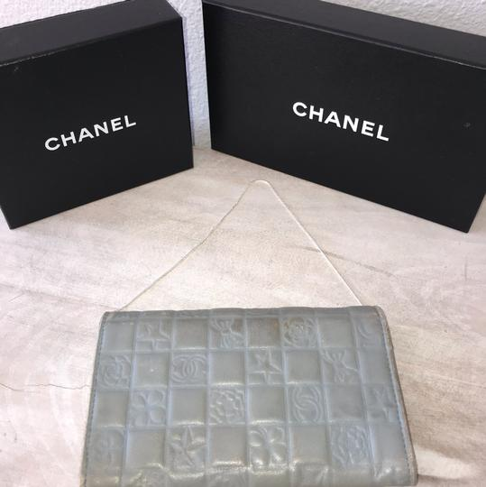 Chanel silver blue Clutch Image 1
