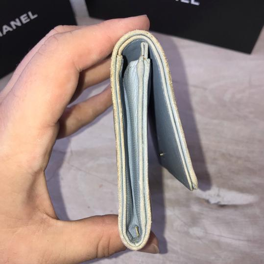 Chanel silver blue Clutch Image 7