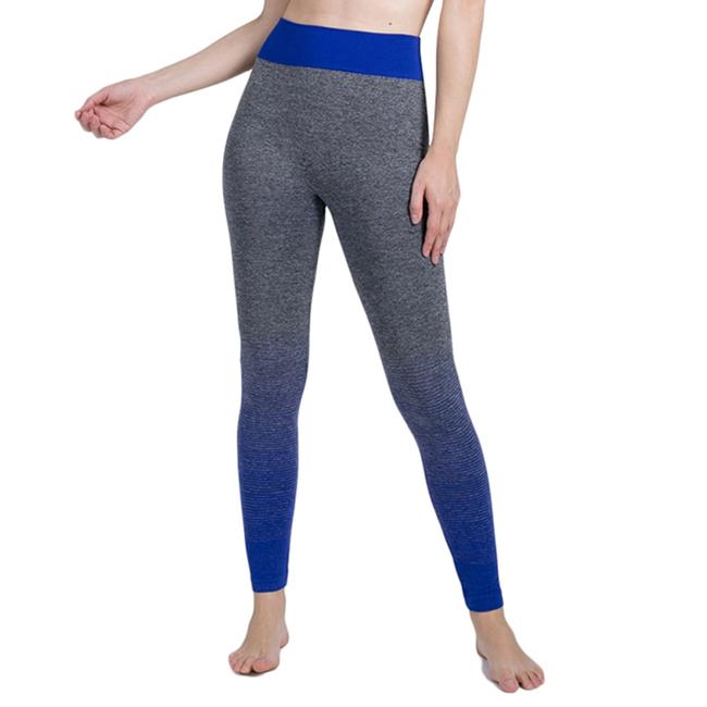 Item - Gray and Blue Activewear Bottoms Size 12 (L, 32, 33)