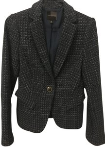 The Limited Woven Jacket Navy Blazer