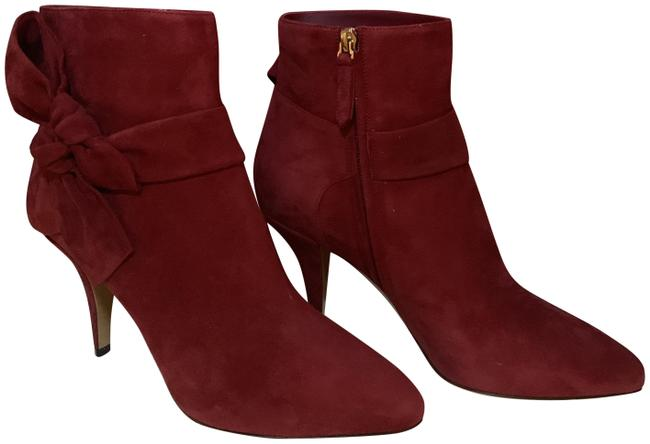 Item - Red Bow Ankle Boots/Booties Size EU 39 (Approx. US 9) Regular (M, B)