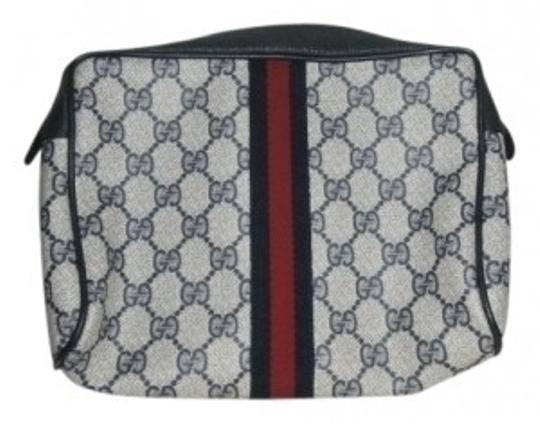 Preload https://item2.tradesy.com/images/gucci-vintage-classic-leather-and-cloth-clutch-24781-0-0.jpg?width=440&height=440