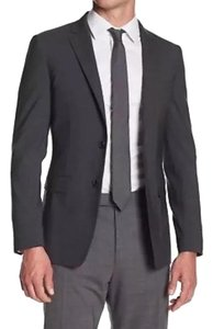 Theory Theory Malcolm Wallsend Men's Suit Jacket Dark Grey Size 38