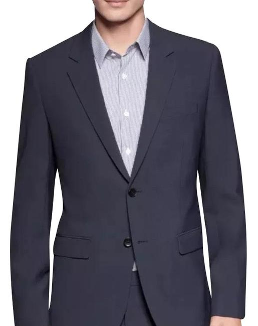 Item - Regular-fit Xylo Np Wool Sportcoat Dark Blue Shorts Suit Size OS (one size)