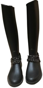 Moschino black & silver Boots