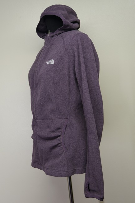 The North Face Fleece Signature Athletic Hooded Jacket Image 2